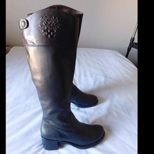Vince Camuto Shoes - Leather! Majestic Black/Brown Vince Camuto Boots
