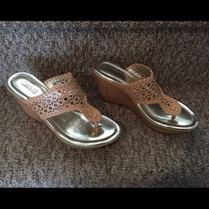 Carlos Santana Shoes - Carlos by Carlos Santana Laclede Platform Sandal