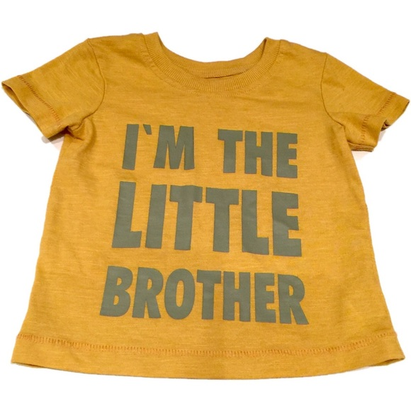 Other - 🇬🇧 Little brother T-shirt 9-12 mths