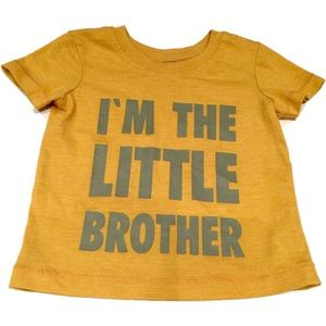 Shirts & Tops - 🇬🇧 Little brother T-shirt 9-12 mths