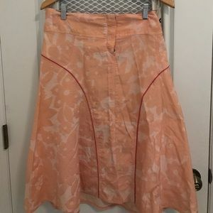 Oilily Dresses & Skirts - Oilily floral embossed peach colored skirt. Sz 36