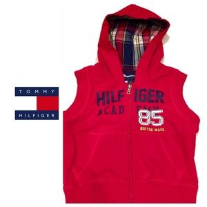 Tommy Hilfiger Shirts & Tops - Tommy Hilfiger Hooded Vest top 2T