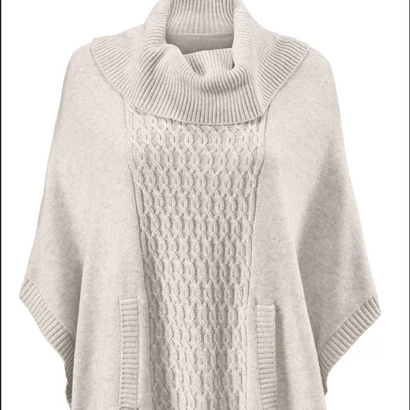 76% off CAbi Sweaters - Cabi 2015 cowl poncho Sz L #3003 from Bo's ...