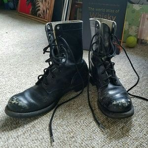 Shoes - Vintage military boots