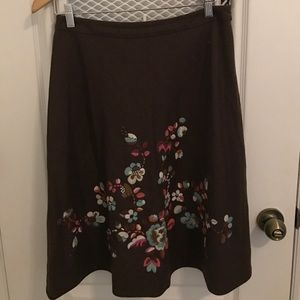 Oilily Dresses & Skirts - Oilily wool blend floral skirt. Sz 36
