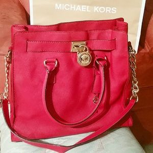 Michael Kors Handbags - Michael Kors large hamilton
