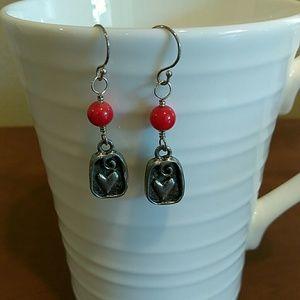 2Chillies Jewelry - Fun Heart Earrings