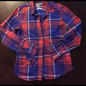 The North Face Ladies Plaid Flannel Shirt