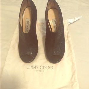 Jimmy Choo Shoes - Jimmy Choo size 37 sparkling ankle boot