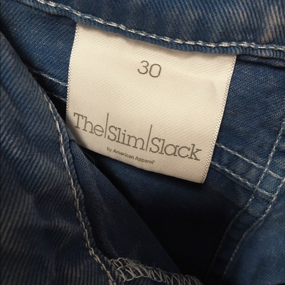 American Apparel Jeans - The Slim Shack by American Apparel skinny jeans 30