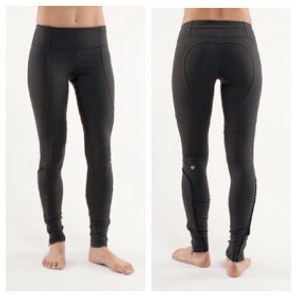 0eab5e7e34 lululemon athletica Pants - Lululemon Dressage Pant- Dark Grey/ Black sz 2/4