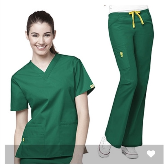 9502d3e6d59 wonderwink Other | Scrub Set Hunter Green | Poshmark