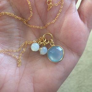 AriGrl Jewelry - Chalcedony gemstone necklace