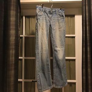 Aeropostale Denim - Aeropostale 9/10 skinny bootcut Chelsea jeans