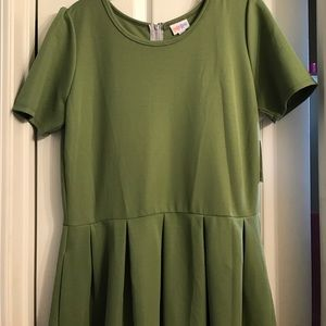 NWT Lularoe Amelia Dress 2xl