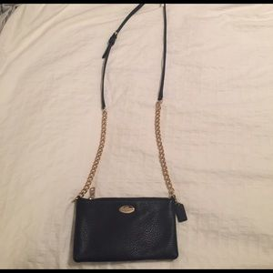 Coach Navy Blue Crossbody bag