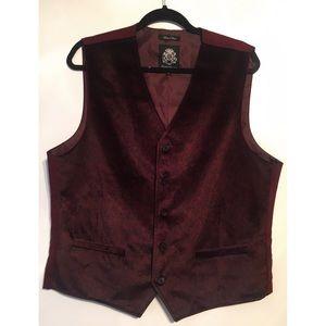 English Laundry Other - English Laundry Men's Dean Black Trim Fit Vest