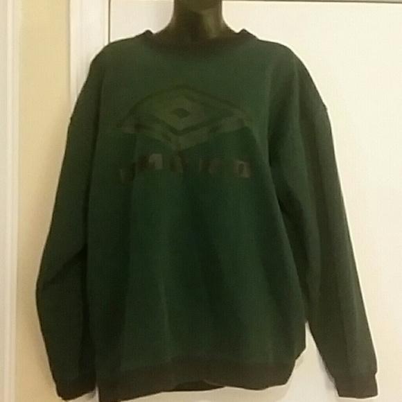 green umbro sweatshirt