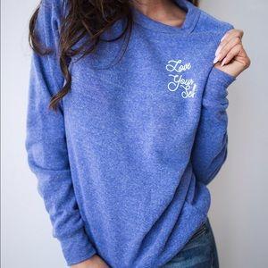 Friday Apparel Sweaters - Love Yourself Sweatshirt