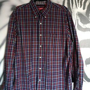 Izod Other - MENS IZOD plaid dress shirt
