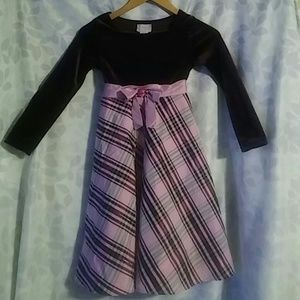 Other - A purple dress with plaid.
