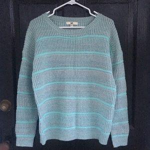 ya Los Angeles aqua sweater