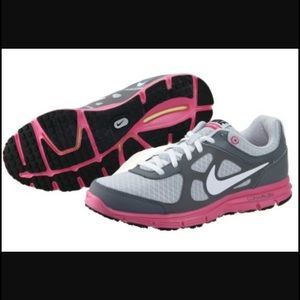 Nike Other - Nike Lunarlon Sneakers Running Shoes 5 Youth Pink