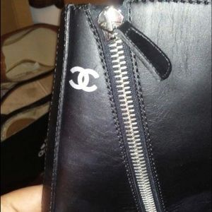 AUTHENTIC CHANEL MOTO BOOTS