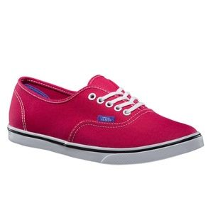 Vans Pop Authentic Lo Pro Sneakers Shoe women Sz 9