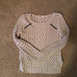 Boheme Sweaters - Zipper Detail Sweater