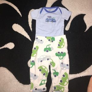 Carter's Other - 3 months car outfit