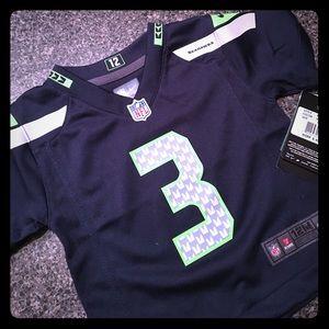 NWT Nike NFL Seattle Seahawks Wilson Game Shirt🏈
