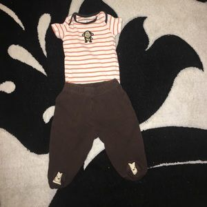Other - 3 months monkey outfit
