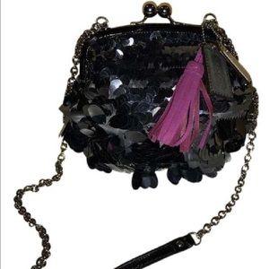 Coach Handbags - Limited ed! Coach Sequin Kisslock Shoulder/Handbag