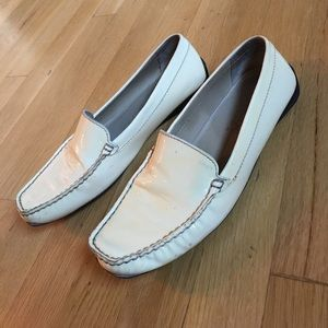 Geox Shoes - Geox patent leather loafers size 8