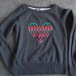 Roxy Tops - Foxy heart shirt