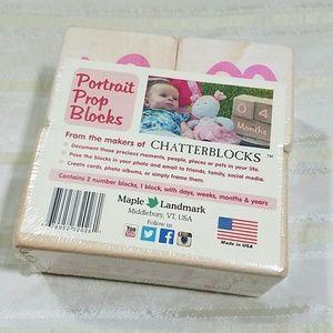 Maple Landmark Other - BABY WOOD PORTRAIT PROP BLOCKS