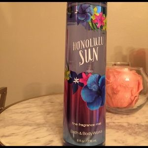 Never used Bath and Body works fragrance mist!
