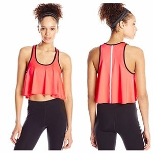Rebecca Minkoff Athletic Bra/Top Neon Pink NWT