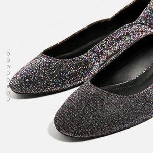 Zara Shoes - Shiny flats