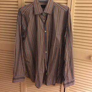 Bugatchi Other - Bugatchi XL striped button down dress shirt