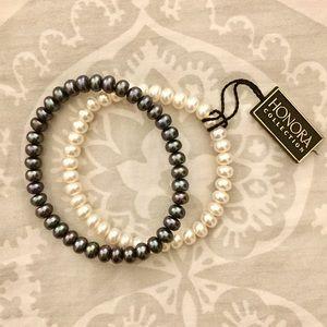 Honora Jewelry - NWT Honora Freshwater Pearl Bracelets