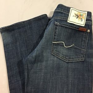7 For All Mankind Denim - NWOT 7FAM LOW RISE BOOTCUT JEANS!!