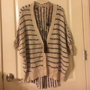 Free People Sweaters - FREE PEOPLE OVERSIZE CARDIGAN SMALL