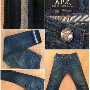 A.P.C. Other - Vintage APC Old Standard Selvedge Denim