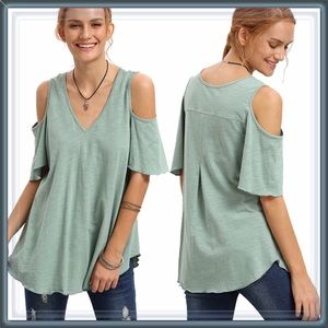 Tops - NEW Cold Shoulder Tunic