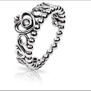 Jewelry - Silver Princess Crown Ring