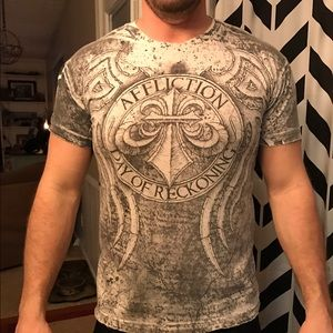 Affliction Other - Affliction Day of Reckoning t-shirt