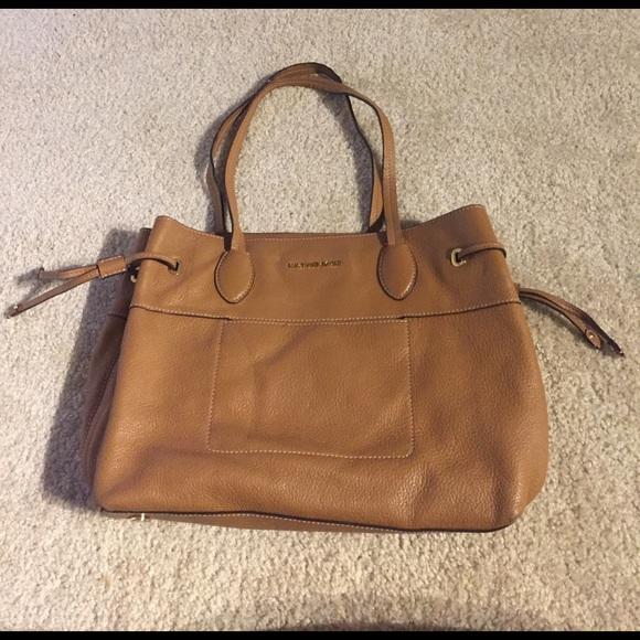 Michael Kors Handbags - Michael Kors Mae Large East West Drawstring Bag
