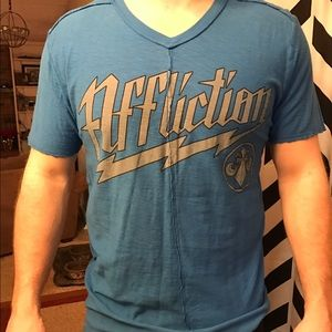 Affliction Other - Affliction Live Fast Tee
